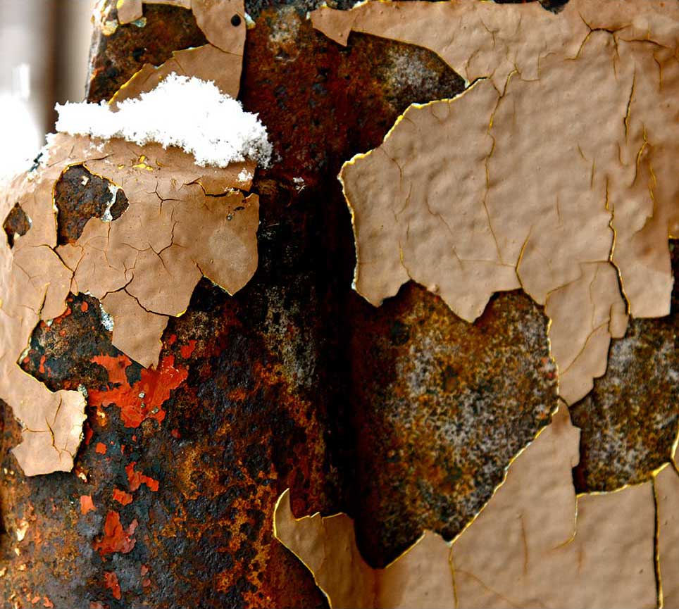 rust, urban, modern, white, abstract