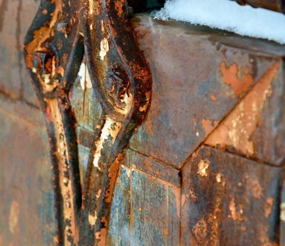 urban, rust, gold, metal, hook, abstract, warehouse