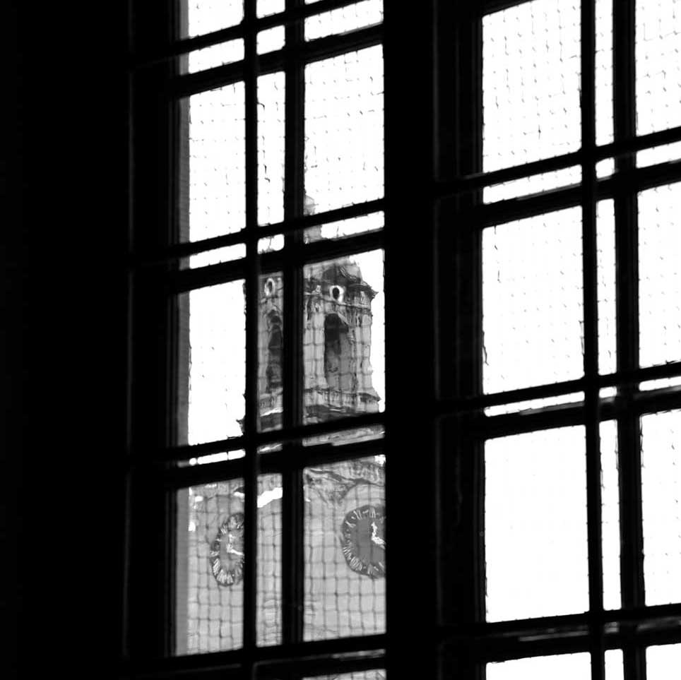 building, shadow, atmospheric, classical, window, black and white, Copenhagen