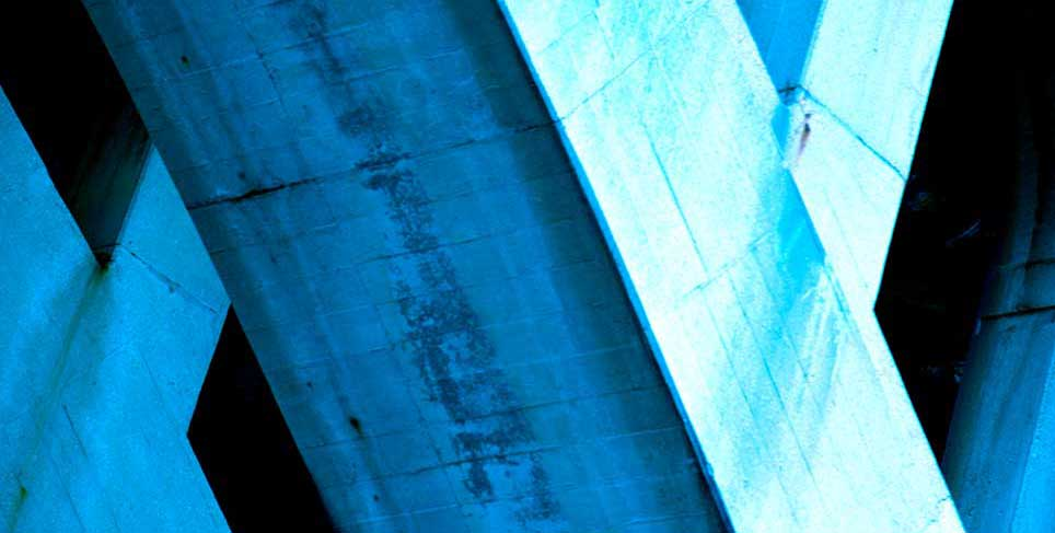 bridge, Washington D.C., blue, abstract, metal, black, modern