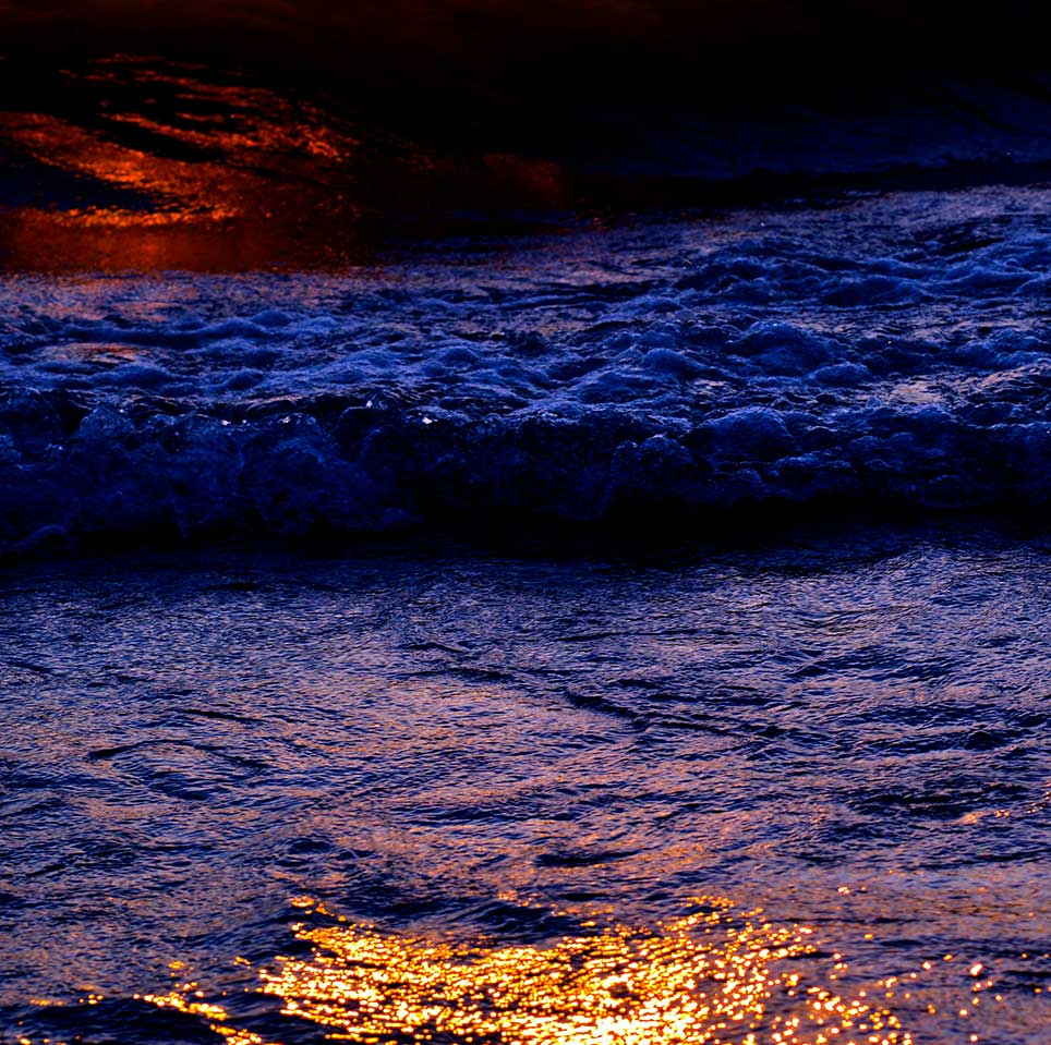 water, Saugatuck, sunset, cobalt, red, gold, Michigan, peaceful